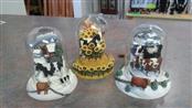 HERRERO COW Collectible Plate/Figurine COW FIGURES (SET OF 3)